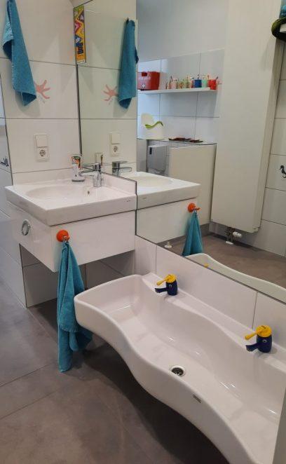 Kinderfreundliche Waschbecken
