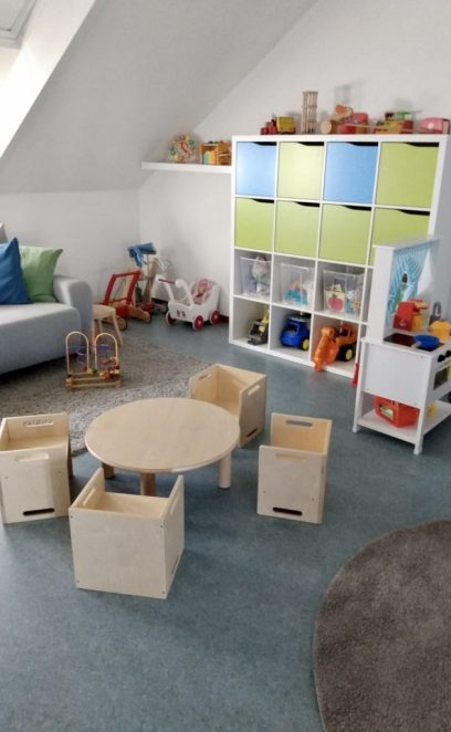 Die Spielecke in unserem großen Raum