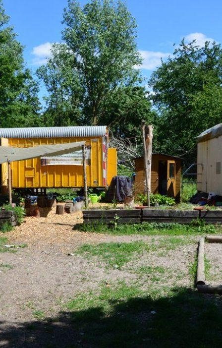 Marienkäfer- und Kuschel-Bauwagen