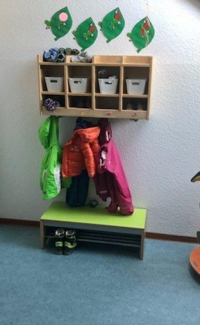 Unsere Garderobe zum entspannten Ankommen